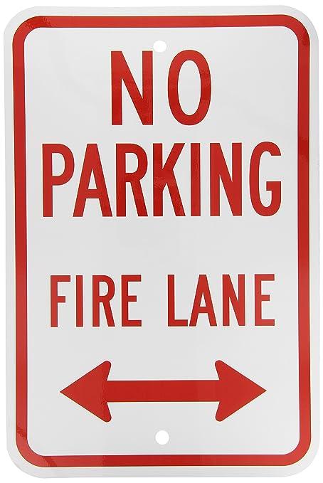 Christmas Arrow Signs.Smartsign Aluminum Sign Legendno Parking Fire Lane With