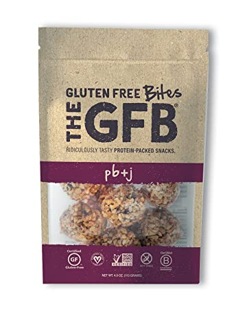 the gfb gluten free non gmo high protein bites pb j