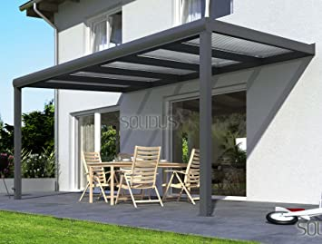 solidpremium 600x350 cm bxt alu terrassenberdachung anthrazit 16mm 3 fach stegplatten zubehr