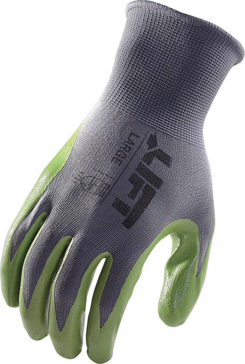 GPR-6KM Black, Medium LIFT Safety Palmer Nitrile Gloves