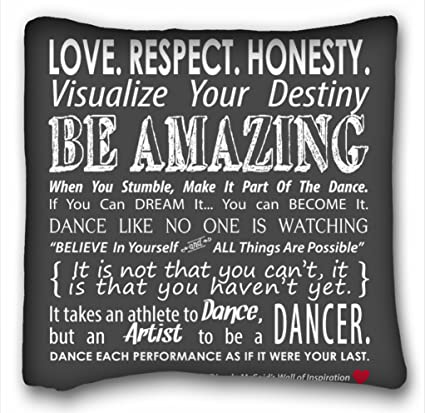 Amazon Tarolo LOVE RESPECT HONESTY VISUALIZE Your Destiny Be Fascinating Love And Respect Quotes