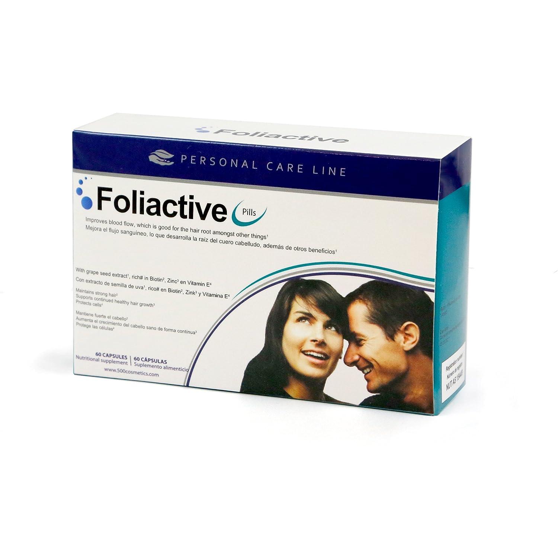 Caída del cabello - Foliactive Pills + Foliactive Spray: Pastillas y Spray para detener la caída del cabello: Amazon.es: Belleza