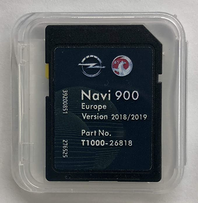 opel navi 900 sd karte downloaden OPEL NAVI 900/600 Navigation SD Card Europe 2018 2019: Amazon.de