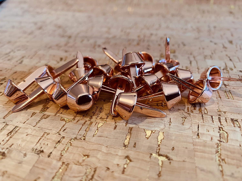 Bag Feet 20 - by 2 Minutes 2 Stitch Bag Hardware Gold Purse Feet- 12mm Set of Twenty