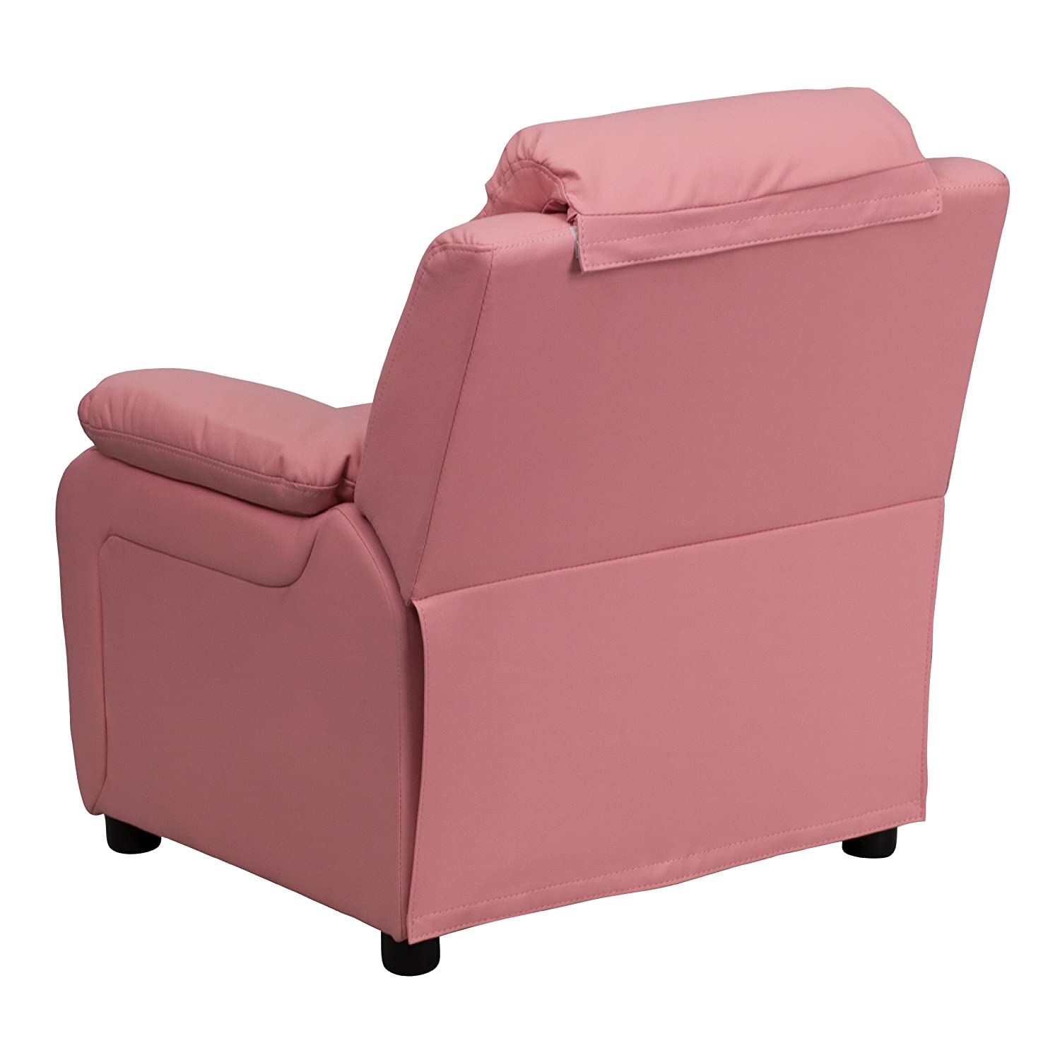 Amazon Flash Furniture Deluxe Padded Contemporary Pink Vinyl