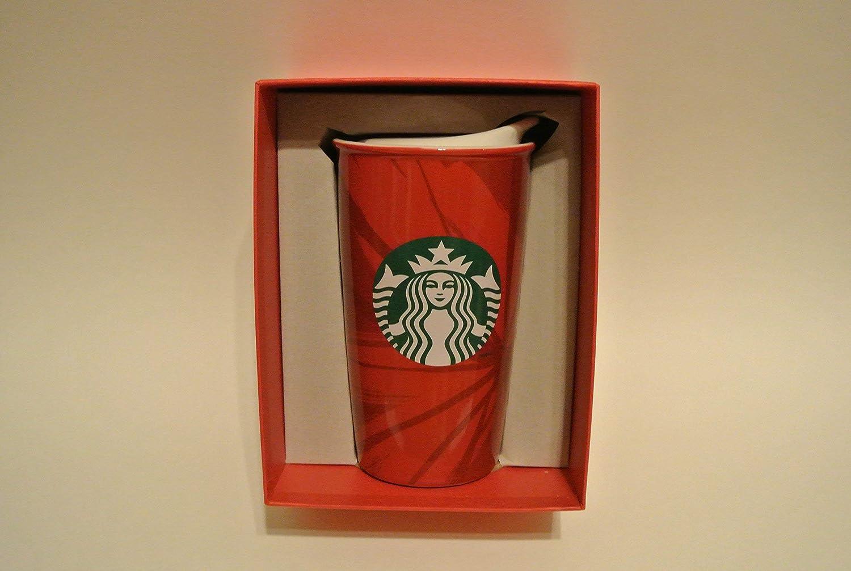 Starbucks Double Wall Traveler – Red Holiday Cup、12 fl oz ( 11040996 )   B00PO9QAEC