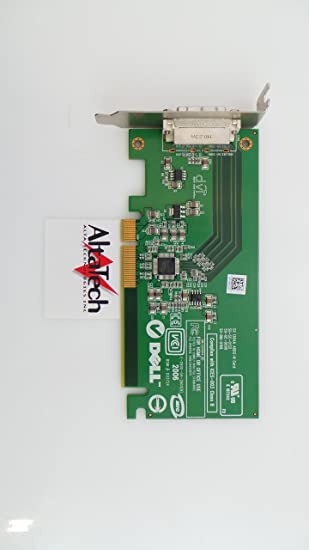 DELL PCI-E DVI Tarjeta gráfica de Perfil bajo - fh868 ...