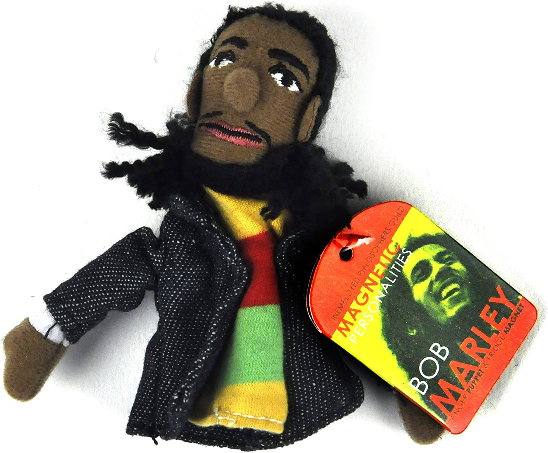Bob Marley Finger Puppet & Fridge Magnet: Amazon.es: Juguetes y juegos