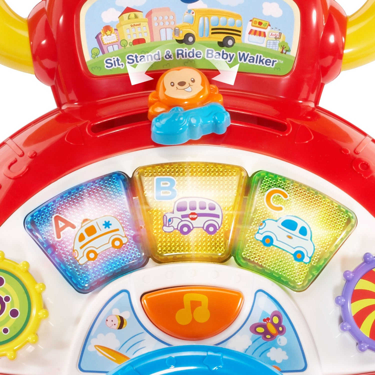 VTech Sit, Stand and Ride Baby Walker (Frustration Free Packaging) (Amazon Exclusive) by VTech (Image #5)