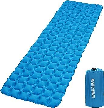 Amazon.com: MARCHWAY - Colchoneta de dormir inflable ...