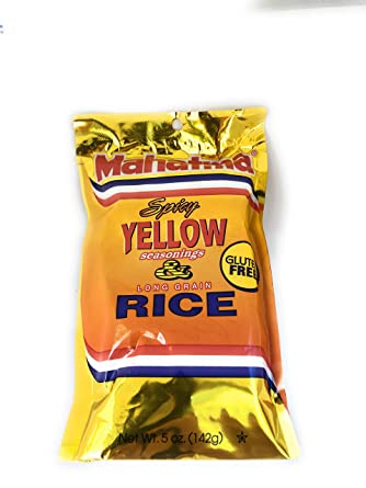 Amazon Com Spicy Yellow Rice Saffron Rice Grocery Gourmet Food