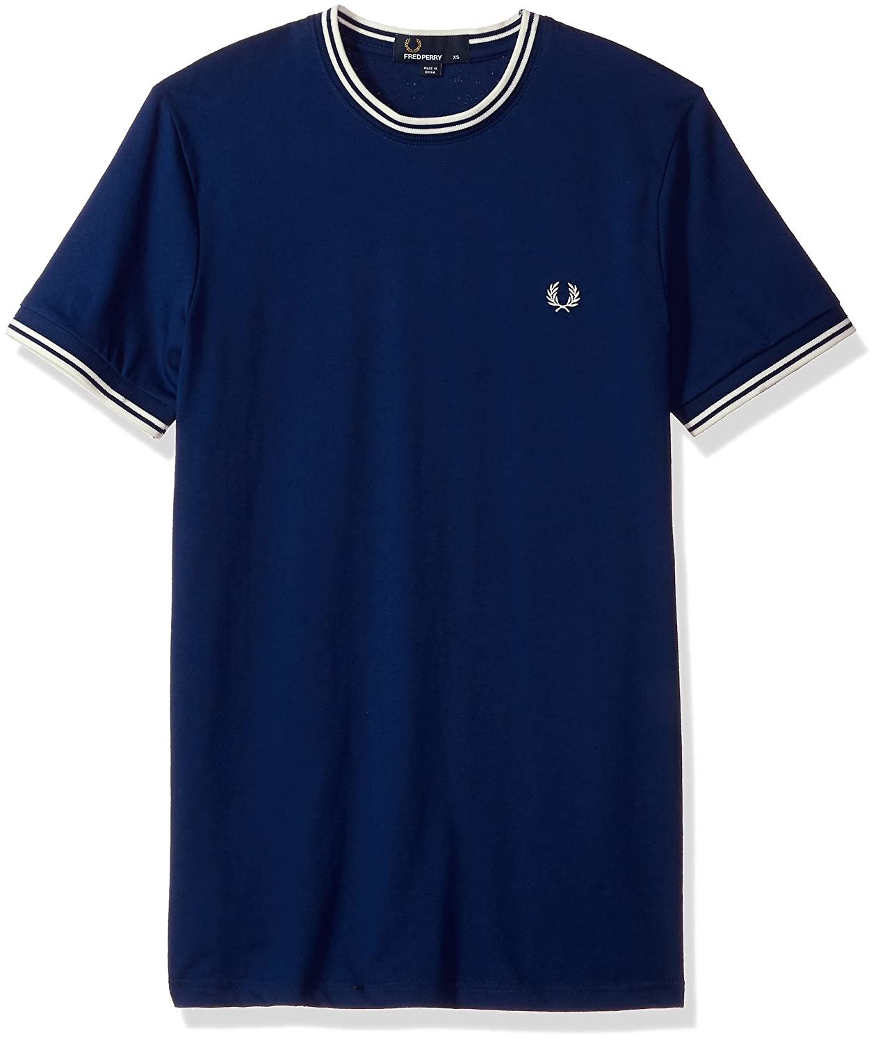Fred Perry Mens Standard Twin Tipped T-Shirt M1588