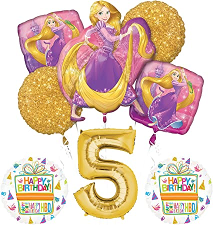 Amazon.com: Anagram Enredado Rapunzel Disney Princess 5º ...
