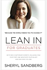 Lean In: For Graduates Kindle Edition