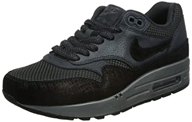 sports shoes e2ce2 32c38 ... hot nike womens air max 1 prm anthracite black 454746 007 size 6.5  ab957 65381
