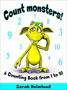 Count monsters! A Counting Book from 1 to 10.