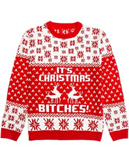 fd2cf12945c9 Ugly Christmas Sweater - It s Christmas Bitches Weihnachtspulli Sweater