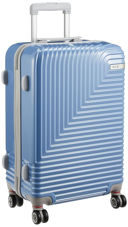 [エースデザインドバイエース] スーツケース エコーパルス 56L 59 cm 3.8kg B07CNFLHY4 ブルー