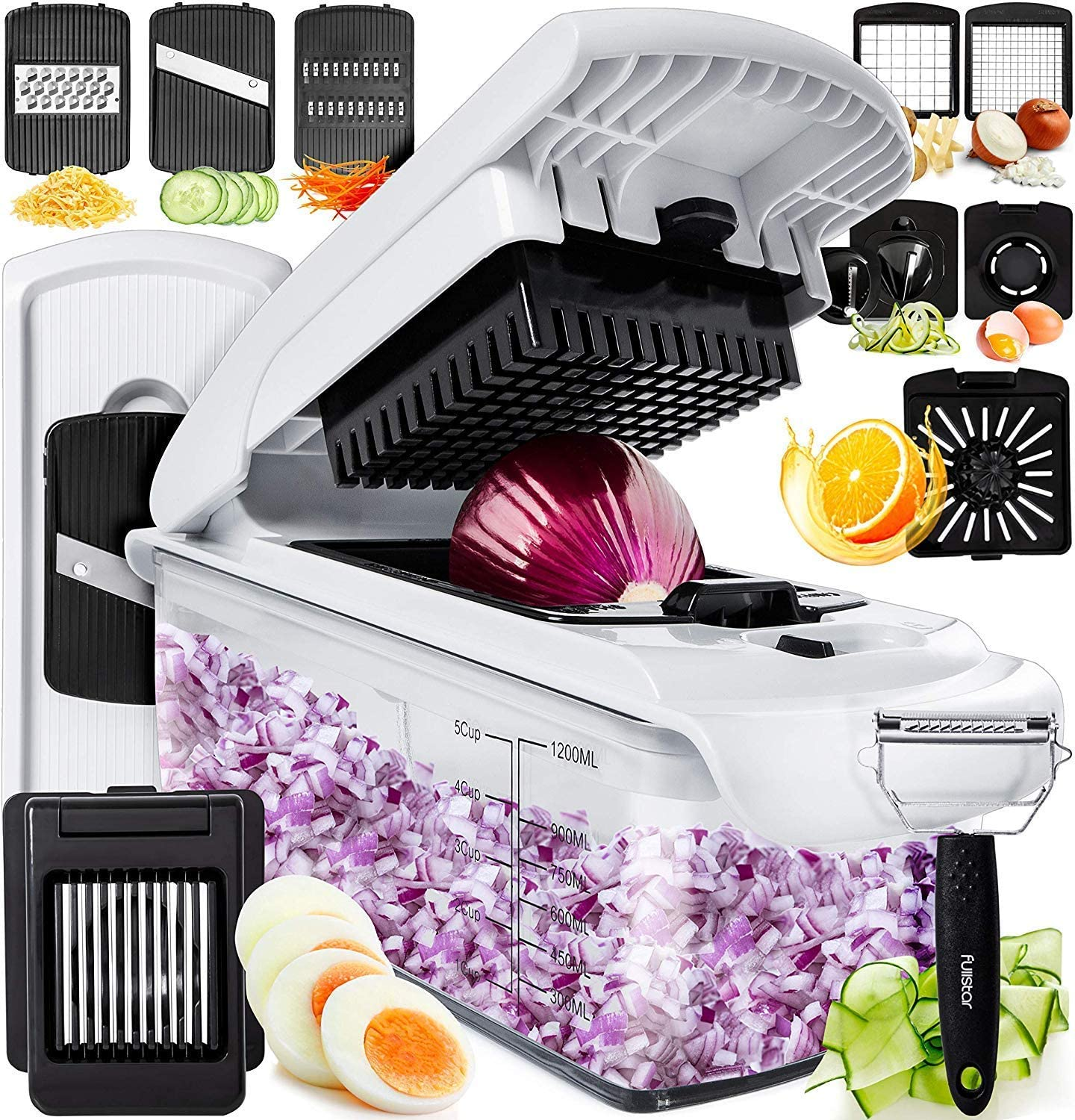 Fullstar Vegetable Chopper Dicer Mandoline Slicer