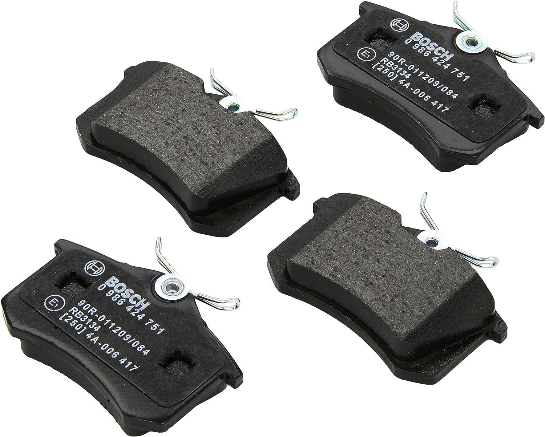 4-teilig Scheibenbremse Bosch 0 986 424 471 Bremsbelagsatz