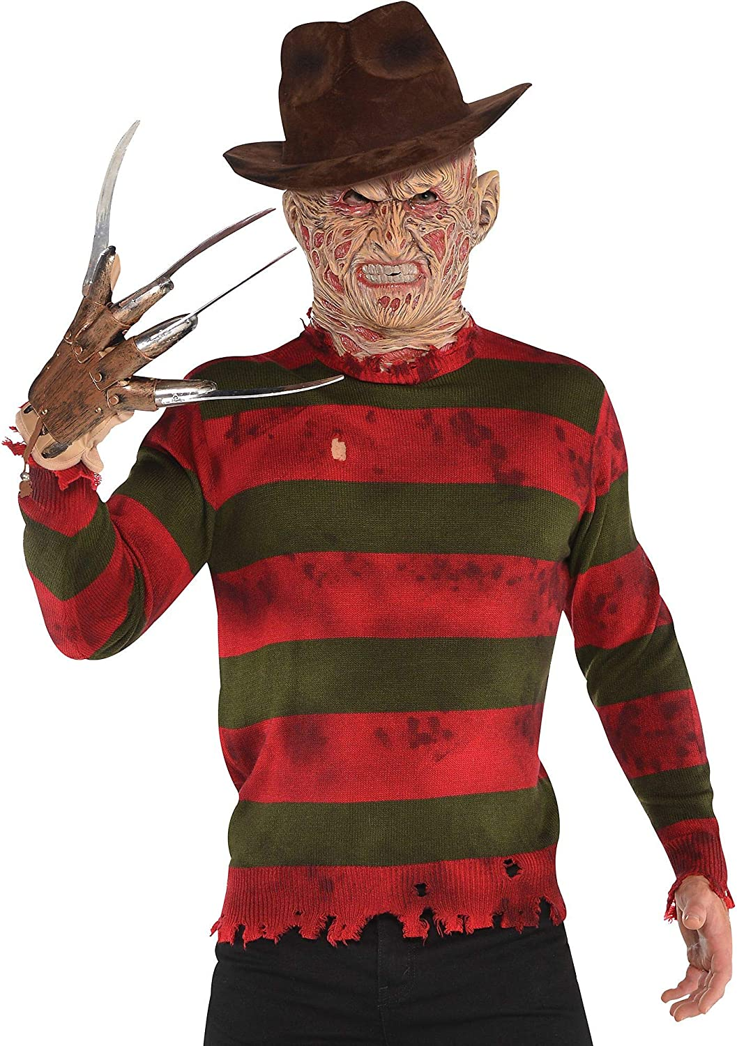 SUIT YOURSELF Traje Usted Mismo Freddy Krueger suéter para Adultos ...
