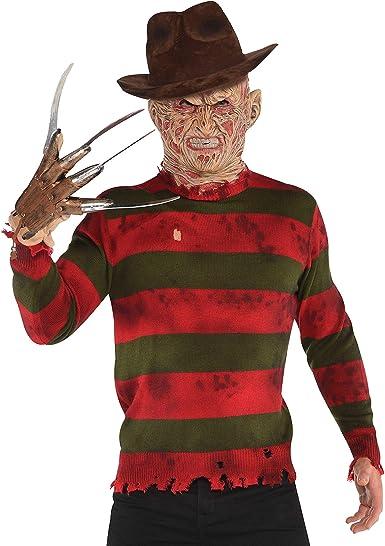 SUIT YOURSELF Traje Usted Mismo Freddy Krueger suéter para Adultos ...