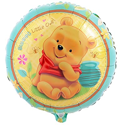 Party Destination 190390 Pooh Sweet Little One Foil Balloon by Mayflower Products: Toys & Games