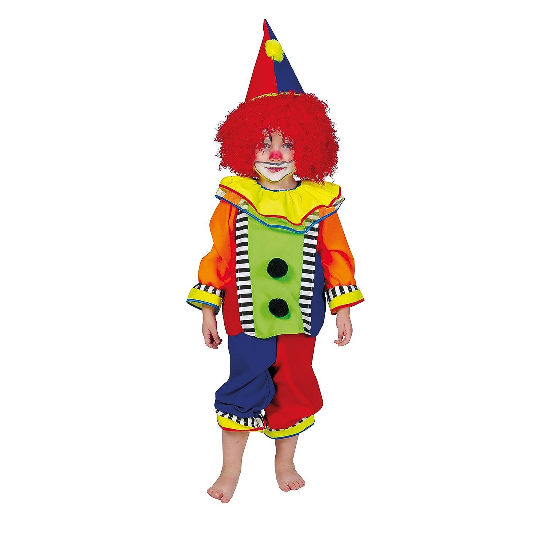 Babykostüm Clown Gr 92 Karnevalkostüm Faschingskostüm