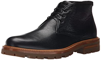 Aquatalia Mens Jeffrey Chukka Boot Black