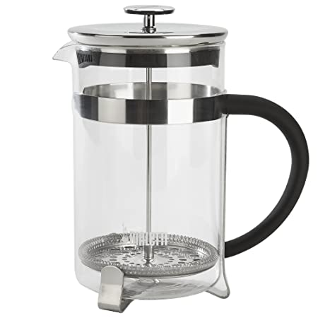 Bialetti, 06767, Stainless Steel Coffee Press , 12 cups , 51 oz , tea, coffee, coldbrew, silver
