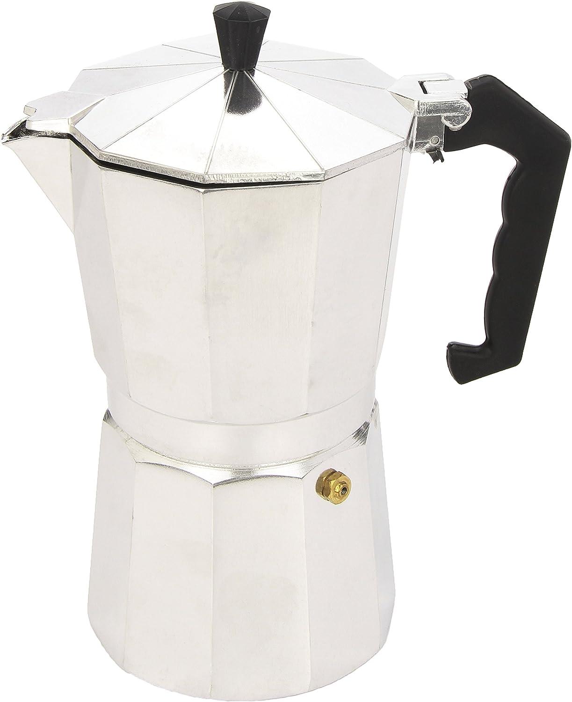 para una taza Cafetera express aluminio Ibili Bah/ía Black