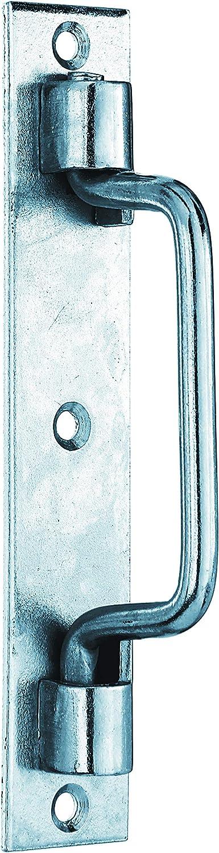 Etienne Length 160 mm Width 30 mm Yellow Galvanised Gah-Alberts 307639 Gate Handles Type St