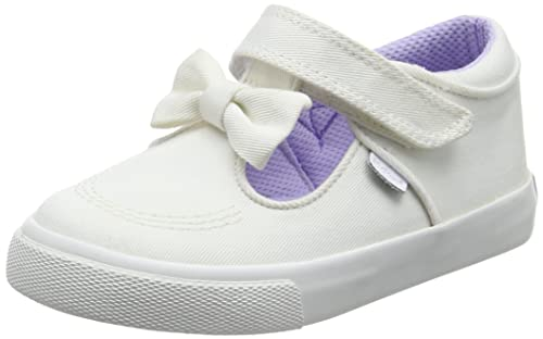Kickers Tovni T Bow, Zapatillas de Estar por casa Chica, Blanco White, 29 EU: Amazon.es: Zapatos y complementos