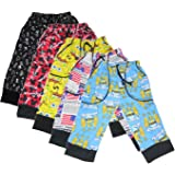 New Day Boys Cotton Three Fourth Pant 5 Piece Combo
