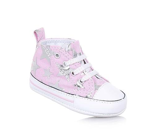 scarpe bambina converse rosa