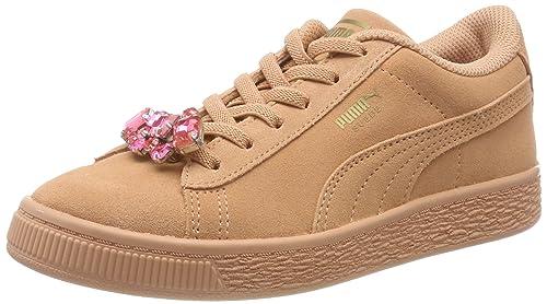 Amazon Y es Ps Para Zapatillas Zapatos Suede Ac Jewel Niñas Puma qwfvO08
