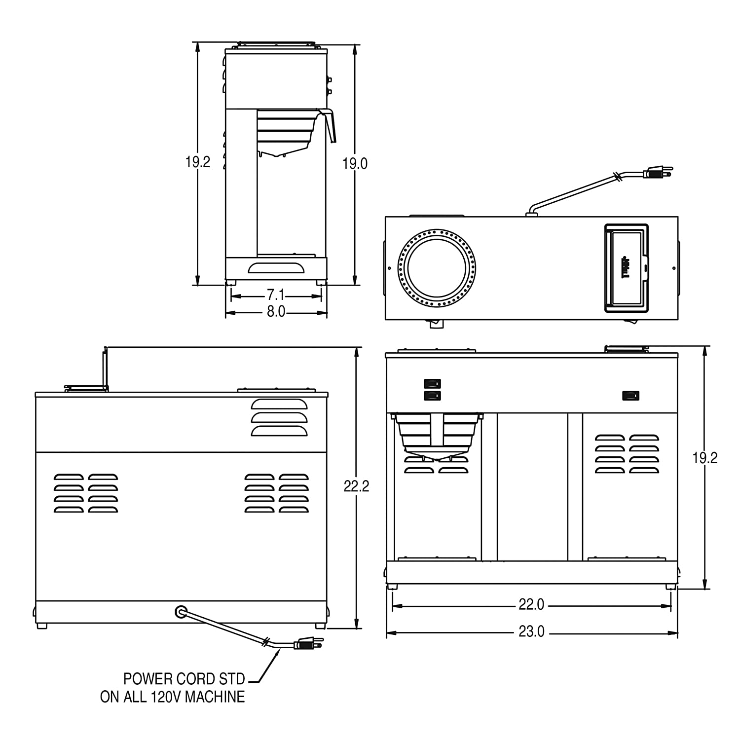 bunn vp 17 wiring diagram wiring library Kitchenaid Wiring Diagram vp17 series installation \u0026 operating guide amazon com bunn 04275 0031 vps 12 cup pourover commercial coffee brewer, with