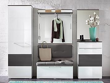 Garderobe Flurgarderobe komplett Garderobe Garderobenset Diele Möbel ...