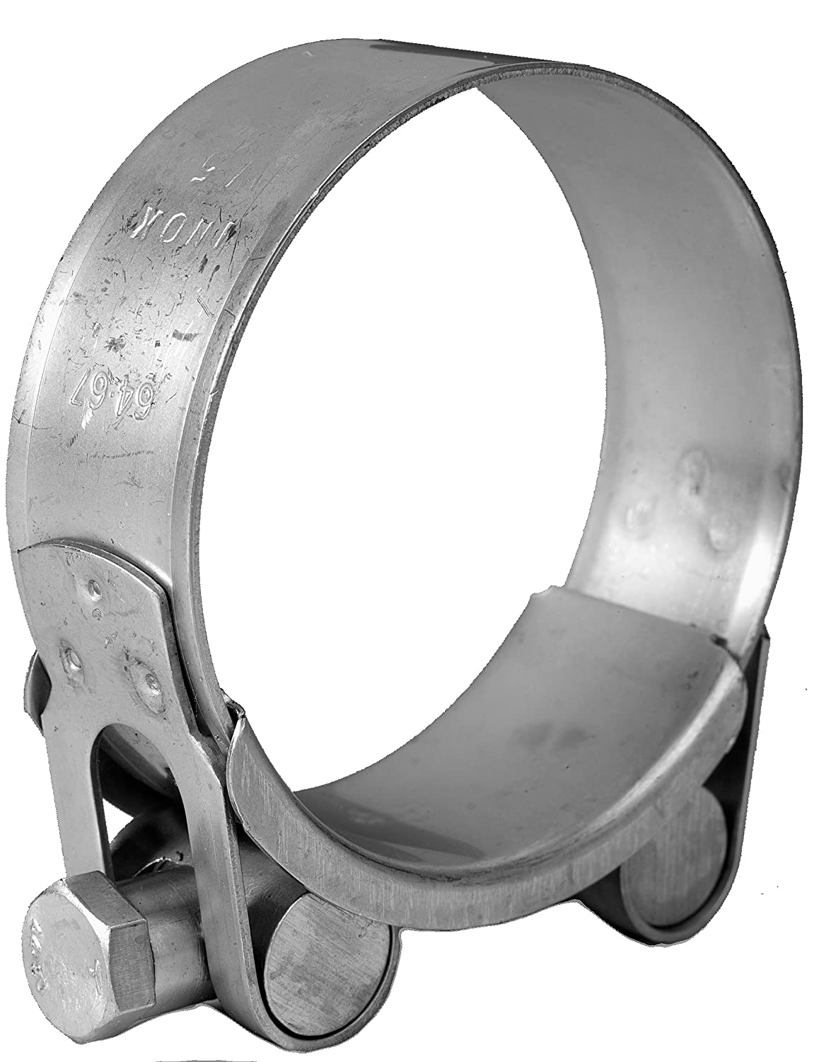 Jubilee JSC063MSP Super Clamp M/S 60 - 63mm (Pack of 2) L Robinson & Co (Gillingham) Limited