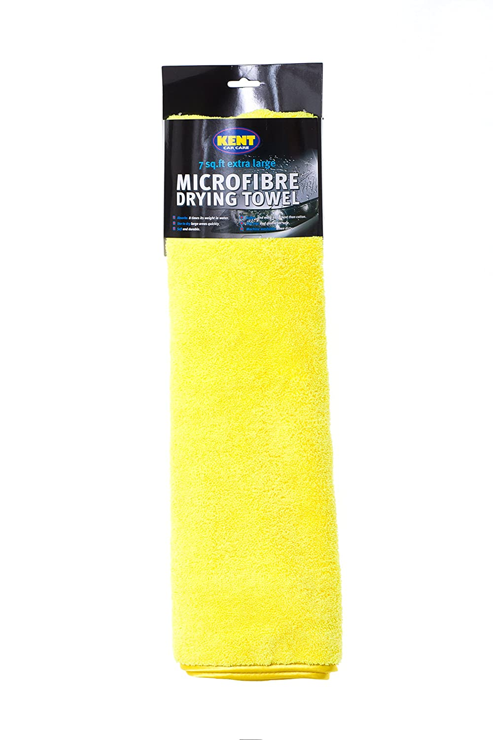 Kent Car Care GKEQ6100 Extra Large Microfibre Drying Towel - 5 sq.ft Kent Chamois Company Limited