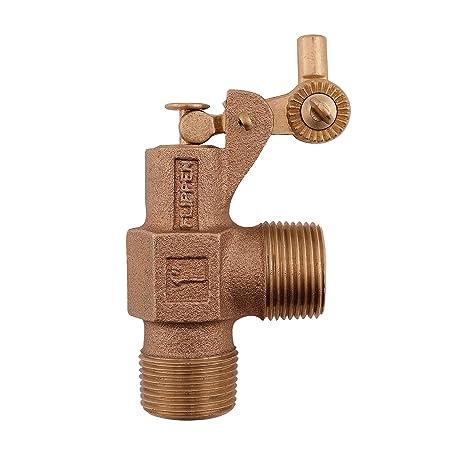 Watts 1 ST1000 - Válvula de flotador estándar de bronce de 2,54 cm