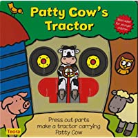 Patty Cow's Tractor: Press Out Parts Make a Tractor Carrying Patty Cow (Toddler...