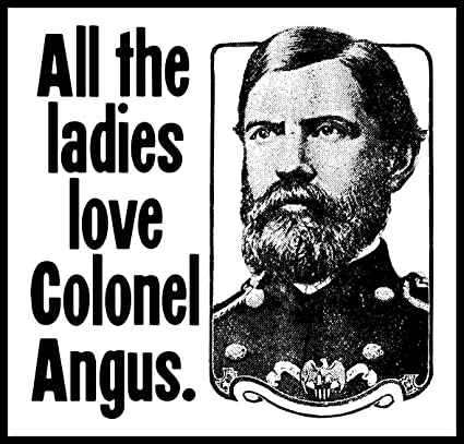 Who is colonel angus