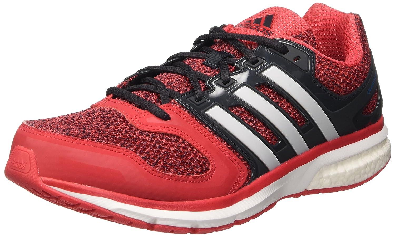 Adidas Questar Boost M, Zapatillas de Running para Hombre 42 2/3 EU|Rojo (Rojray / Ftwbla / Negbas)
