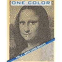 One Color: Vol 4 - Portraits Coloring Book for Adults (Relaxation & Stress Relief)