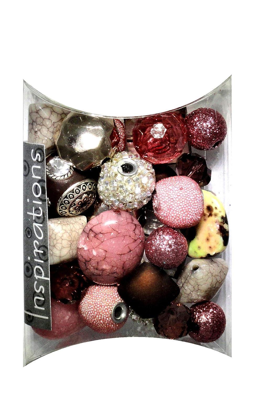 Jesse James metallo Inspirations g-Caliente Beads 50, colore: corallo