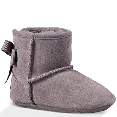 90ffd447fb52 UGG Kids Baby Girl s Jesse Grosgrain Bow (Infant Toddler) Shadow Boot SM  (US 2-3 Infant) M  Amazon.co.uk  Shoes   Bags