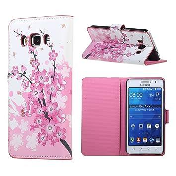 Dooki, Galaxy J5 2016 – Carcasa, Flip Piel Sintética Supporter protectora funda carcasa tipo Cartera para Samsung Galaxy J5 2016 con crédito Tarjeta ...