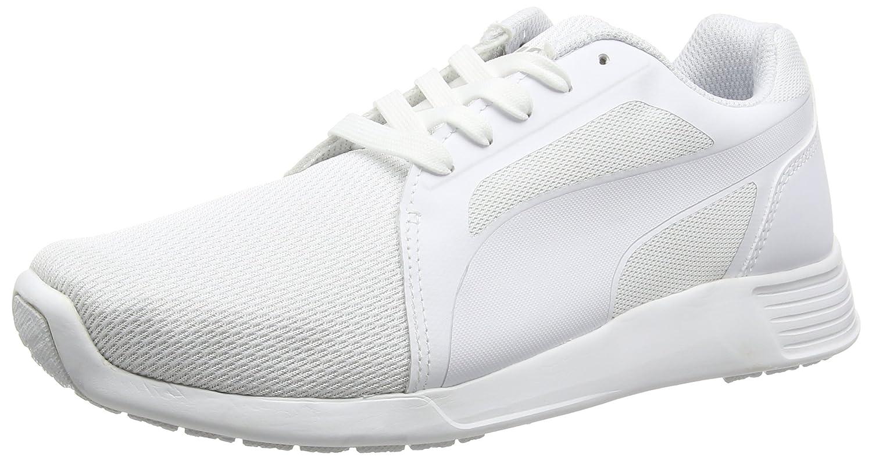 Puma St Trainer Evo Tech Unisex-Erwachsene Low-Top  41 EU|Wei? (White-white-white 06)
