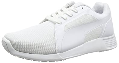 Puma Unisex-Erwachsene ST Trainer Evo Tech Low-Top, Weiß White 06, df6371145e